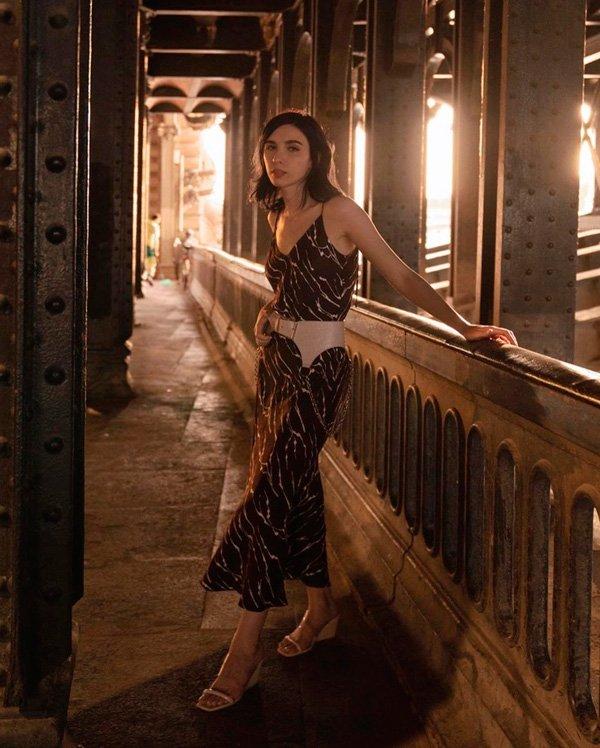 Frida Becker - vestido - cinto - verão - street-style