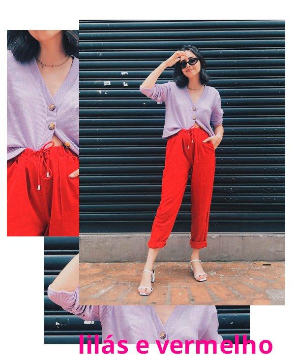Giovana Marçon - lilas-e-vermelho - cores - verão - street-style
