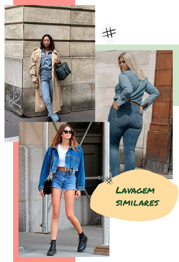 It girls - All jeans - Lavagem similar - Primavera - Street Style