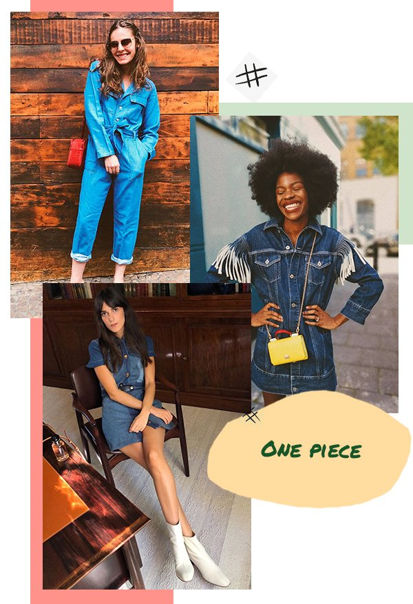 It girls - All jeans - One piece - Primavera - Street Style