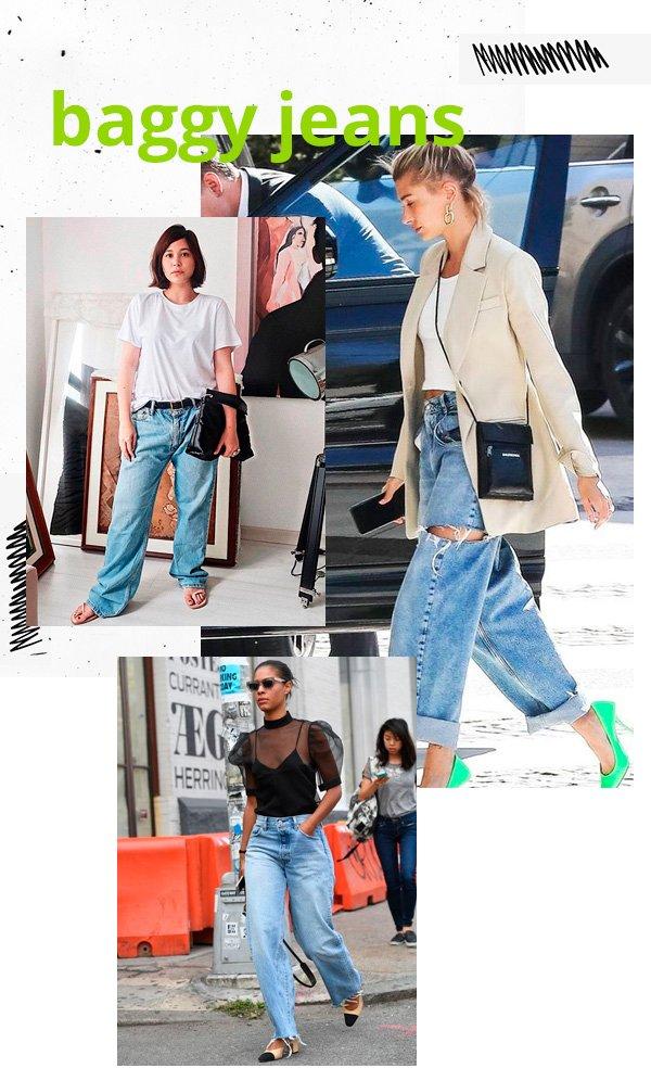Victoria Yamagata, Hailey Baldwin - baggy-jeans - jeans - verão - street-style