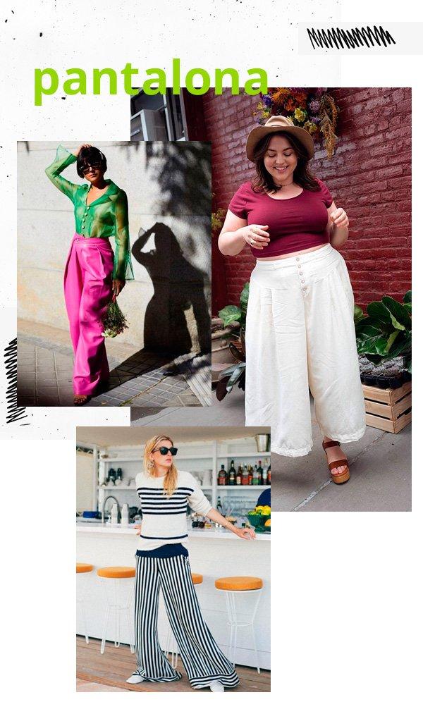 María Bernard, Maxey Greene, Camille Charriere - pantalona - pantalona - verão - street-style