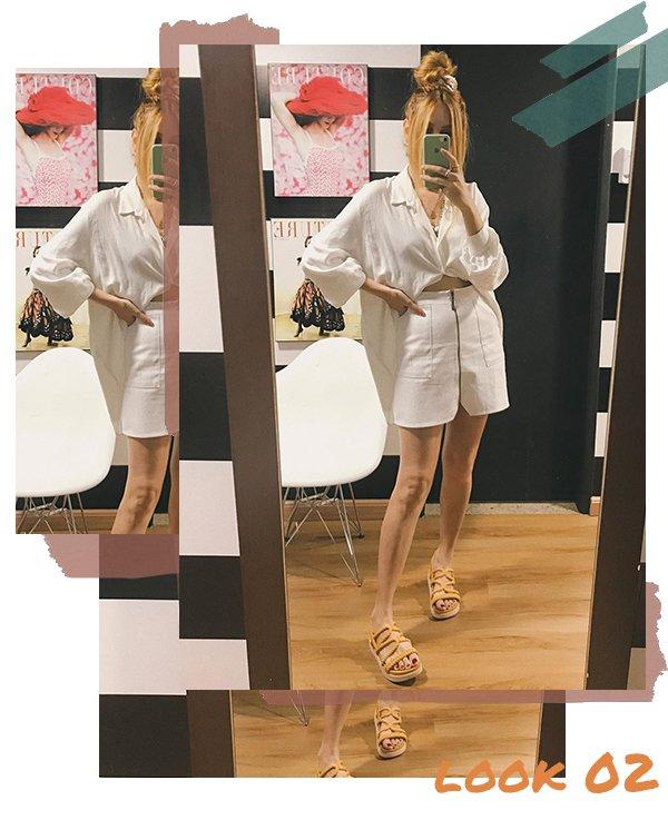 It girl - Saia  - Fim de ano - Verão - Street Style