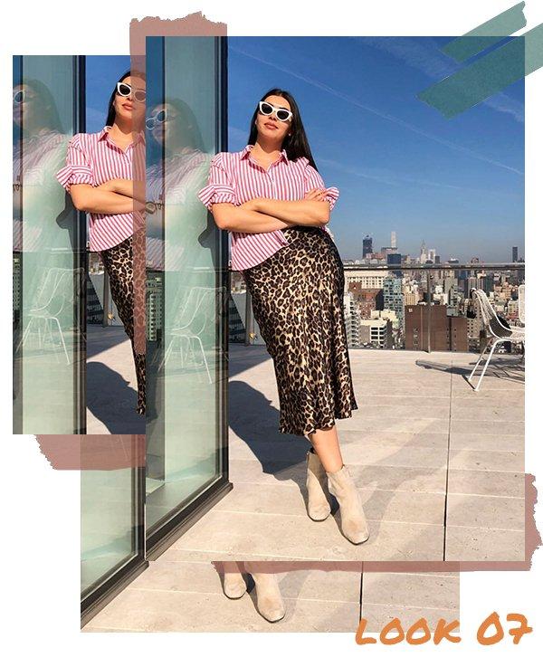 It girl - Saia midi - Fim de ano  - Verão - Street Style