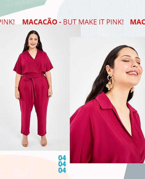 macacão - ashua - pink - publi - look