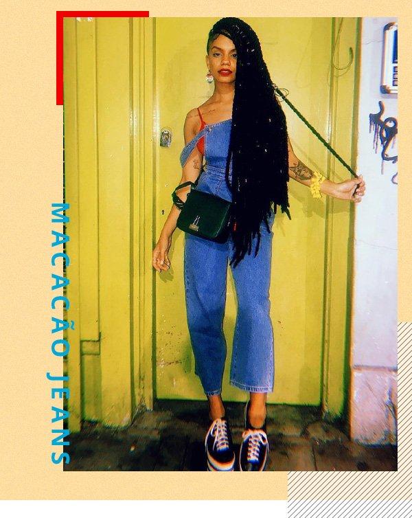Magá Moura -     - macacão jeans - verão - street style