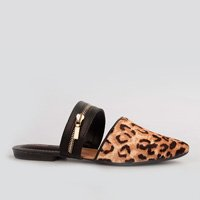 Mule Dakota  Ziper Animal Print