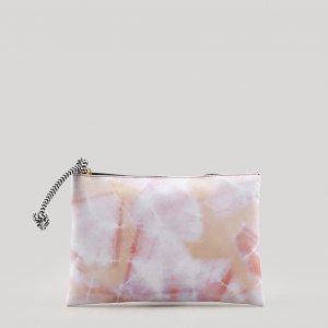 Nécessaire Feminina Estampada Tie Dye Rosa