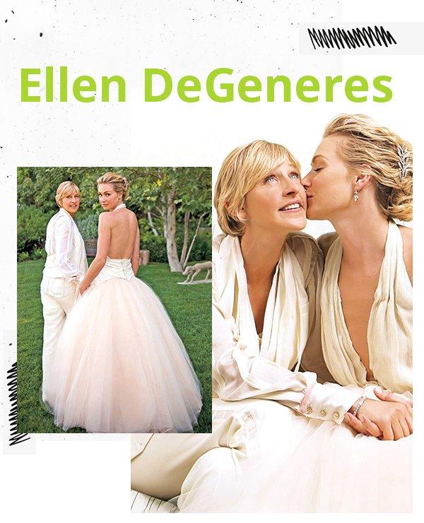Ellen DeGeneres - Alfaiataria - Alfaiataria - Primavera - Street Style