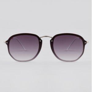 Óculos De Sol Redondo Feminino Yessica Branco