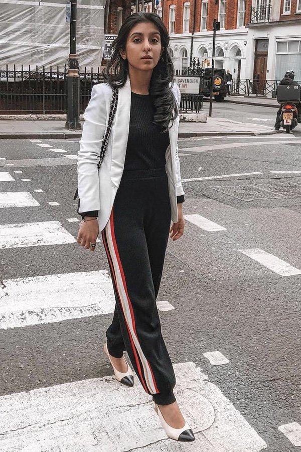 Shloka Narang -      - blazer - verão - street style