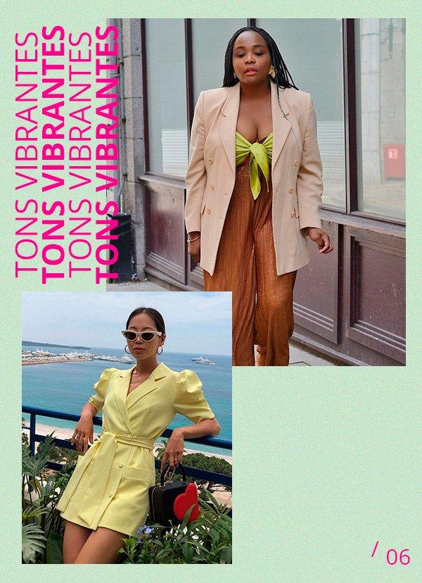 tons vibrantes - moda - looks - publi - amaro