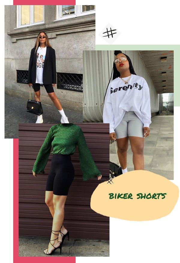 It girls - Bermuda - Biker Shorts - Primavera - Street Style