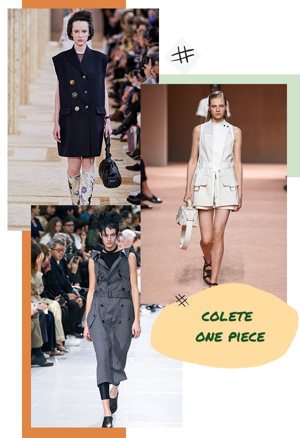 Modelo - Colete - One piece - Primavera - Runaway