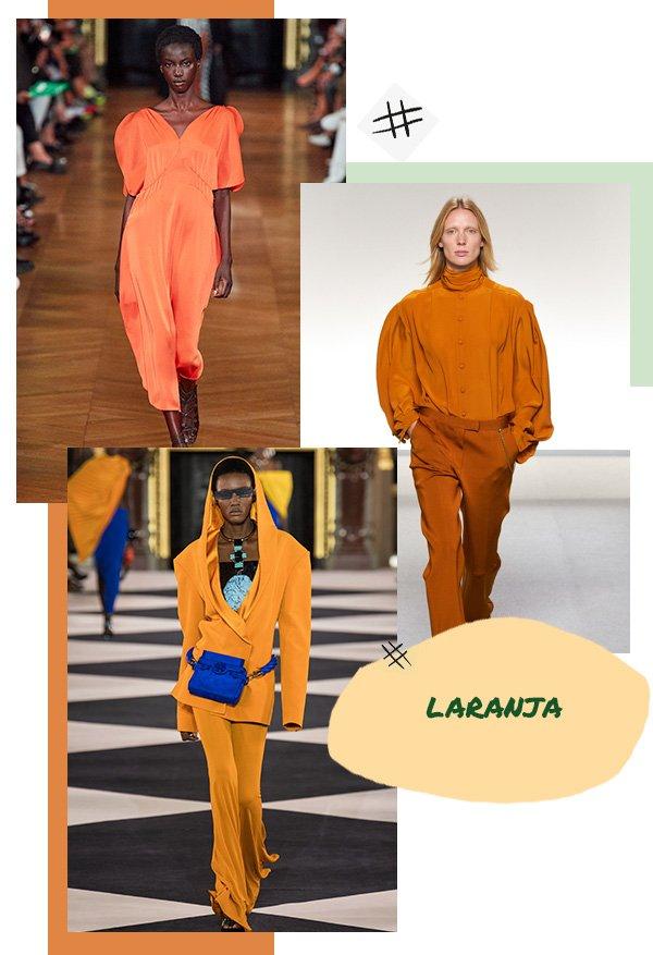 Modelo - Laranja - Laranja - Primavera - Runaway