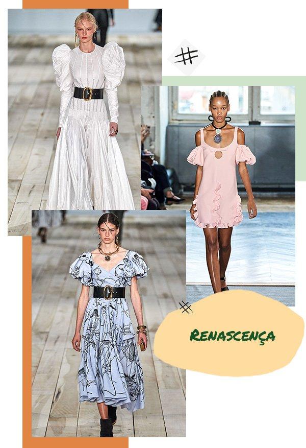 Modelo - Vestido - Renascença - Primavera - Runaway