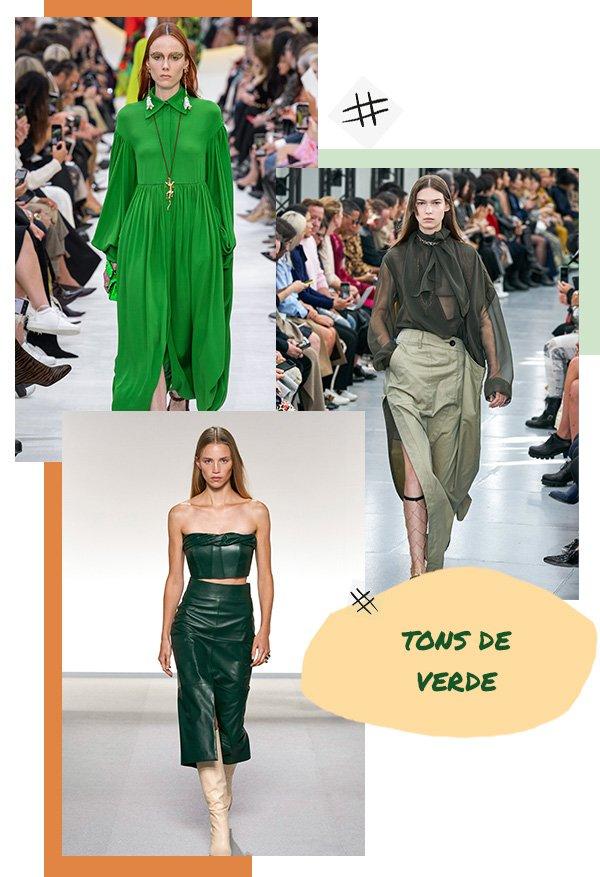 Modelo - Verde - Verde - Primavera - Runaway