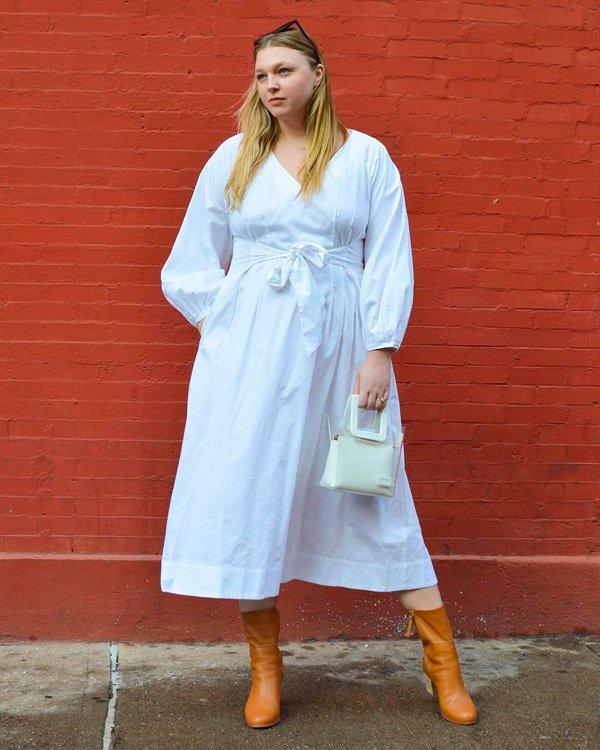 Olivia Muenter - vestido-e-bota - vestidos - verão - street-style