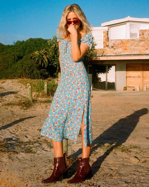 Lucy Williams - vestido-e-bota - vestidos - verão - street-style