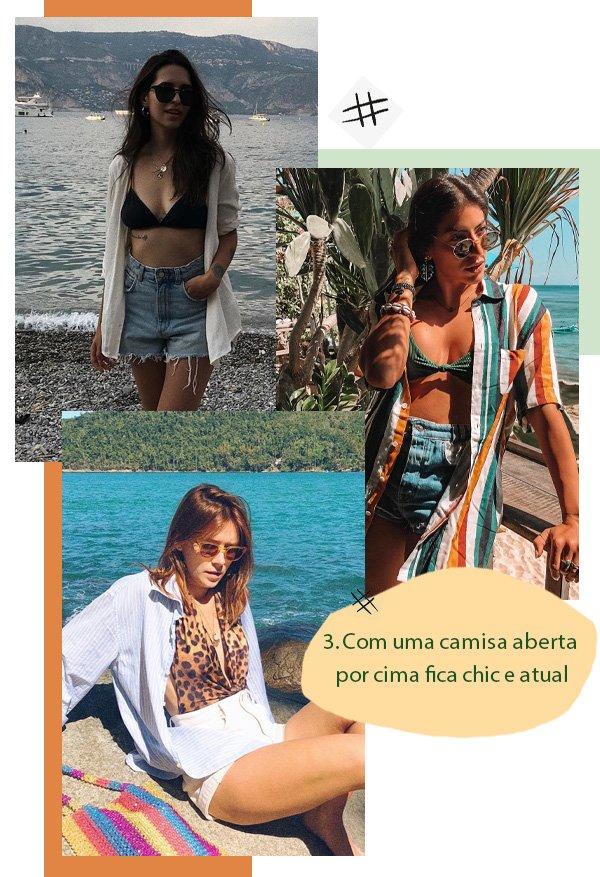 Vic Hollo, Rachel Apollonio, Martha Pinel -       - beachwear no street style - verão - street style