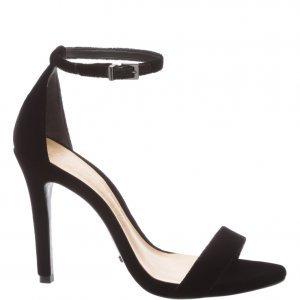 Sandã¡lia Schutz Gisele Velvet Black | Outstore