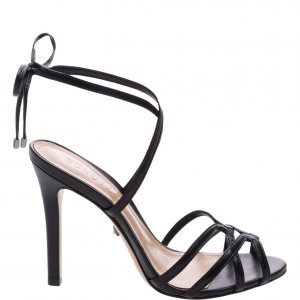 Sandã¡lia Schutz Salto Strings Black | Outstore
