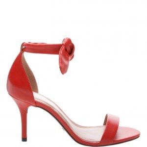 Sandália Arezzo Romantic Royal Red | Outstore