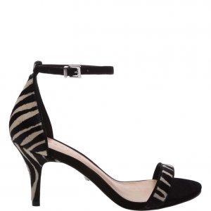 Sandã¡lia Schutz Gisele Kitten Heel Zebra Print | Outstore