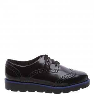 Oxford Arezzo Old Silver Color Line Blue | Outstore