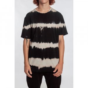 Camiseta Especial Bold Brew Masculino Volcom Preto Tie Dye - P