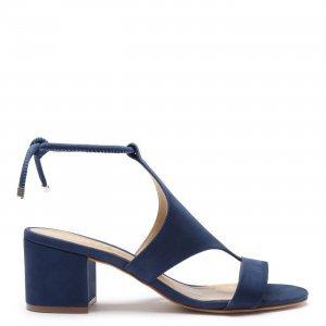 Sandã�Lia Schutz Block Heel Cover Up Deep Blue   Outstore