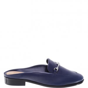 Flat Schutz Mule Dress Blue | Outstore