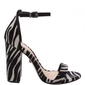 Sandã¡lia Schutz Gisele Salto Grosso Zebra | Outstore
