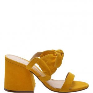 Sandã¡lia Schutz Mule Sweet Yellow | Outstore