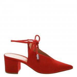 Sapato Schutz Bico Fino Lace Up Red | Outstore