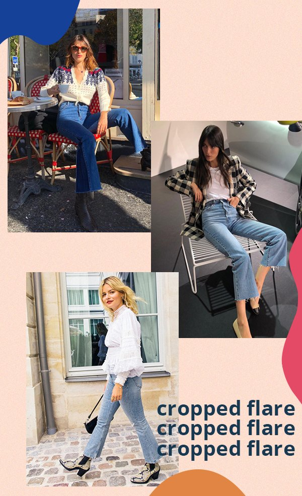 It girls - Jeans - Cropped flare - Primavera - Street Style