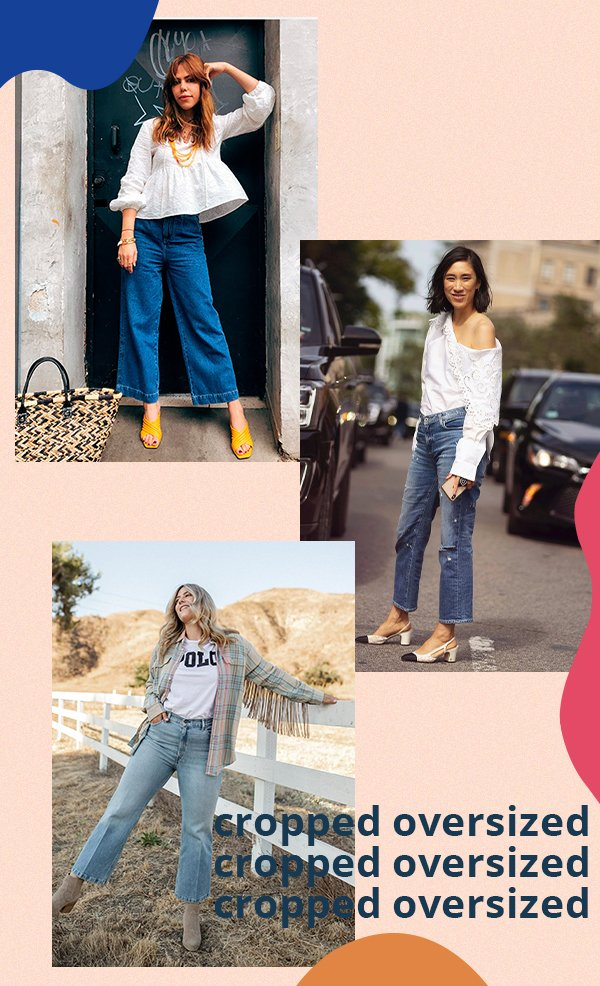 It girls - Jeans - Cropped oversized - Primavera - Street Style