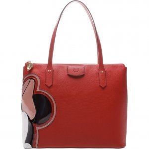 Bolsa Arezzo Shopping Grande Minnie Royal Red | Outstore