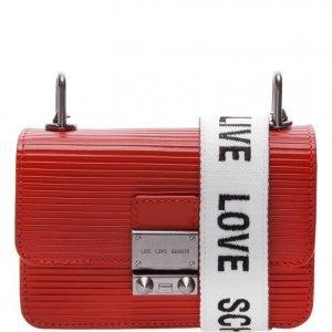Mini Schutz Crossbody Live Love Red | Outstore