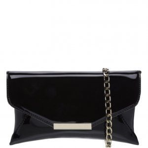 Crossbody Schutz Baguete Vinil Black | Outstore