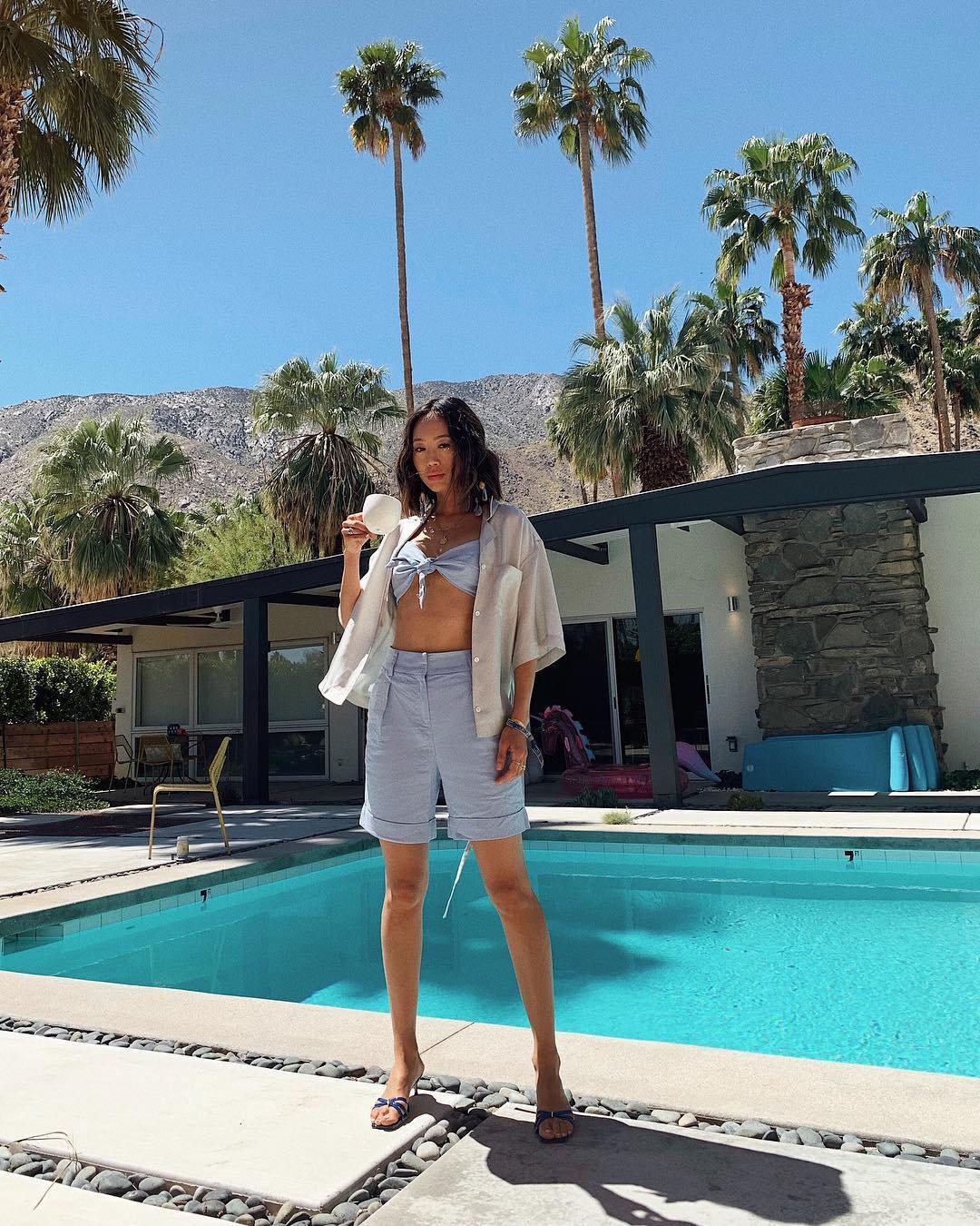 Aimee Song - Bermuda - Bermuda - Primavera - Street Style