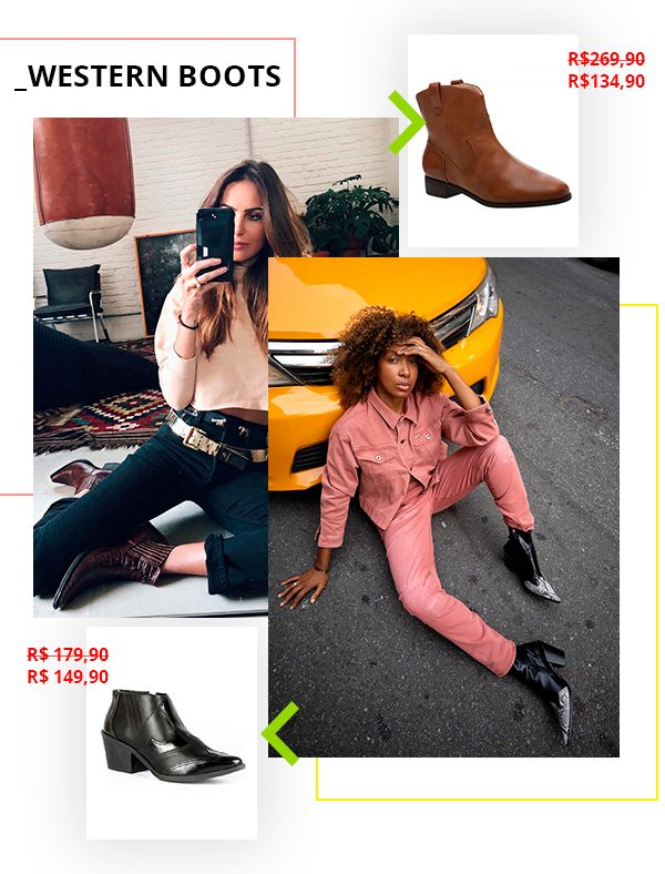 black friday - western boots - compra - moda - looks