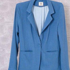 Blazer Oversized Azul - M Azul