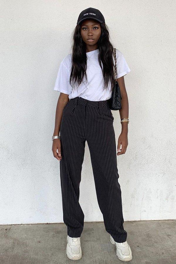 Chanel Mckinsie -       - boné - verão - street style