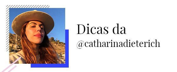 Catharina Dieterich - Dicas - Black Friday  - Primavera - Street Style