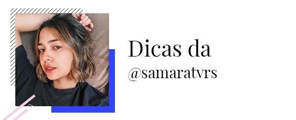 Samara Tavares - Dicas  - Black Friday  - Primavera - Street Style