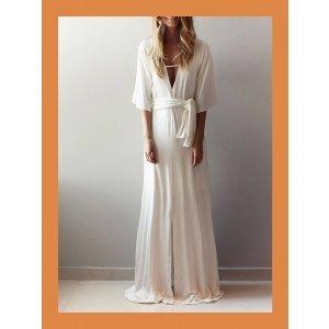 Vestido Veneza - 40 Off White