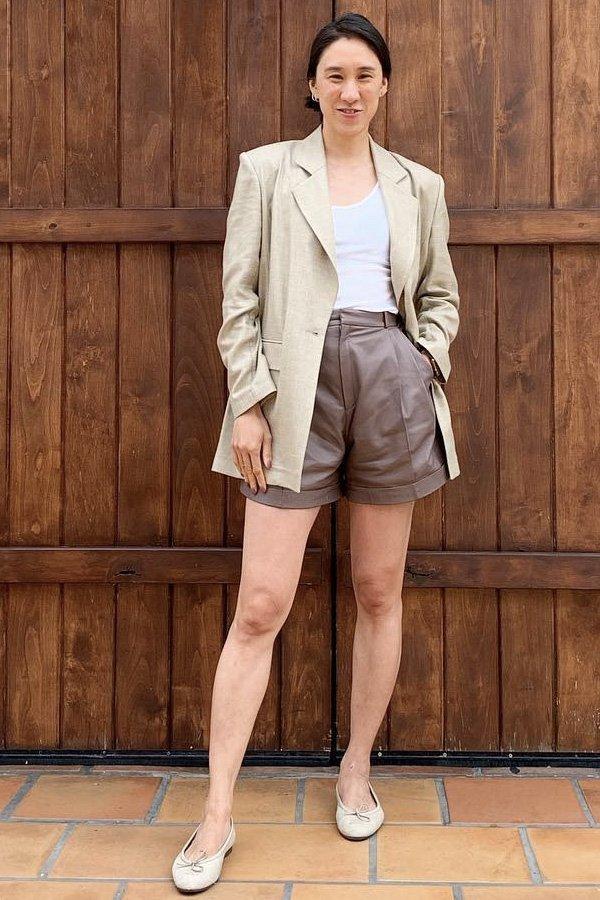 Eva Chen -       - shorts e bermudas - verão  - street style