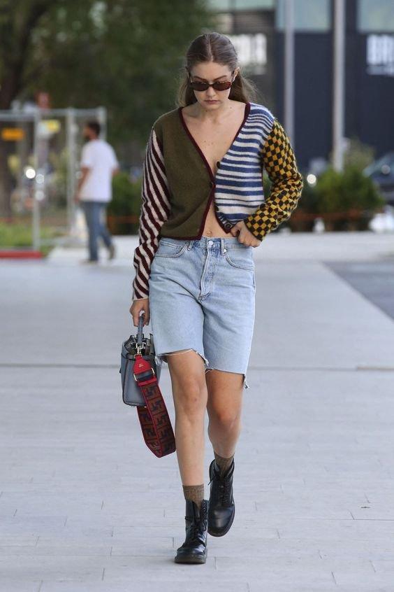 Gigi Hadid - Cardigan - Cardigan - Primavera - Street Style
