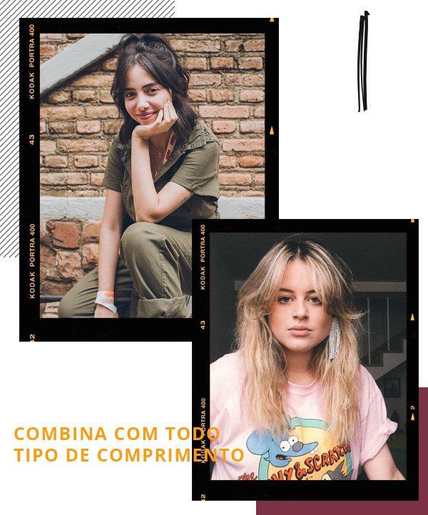 Giovana Marçon, Andressa Almeida -      - curtain bangs - verão - street style